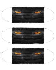 Big Face Cat Cloth Face Mask - 3 Pack front