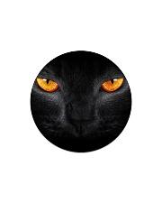 Big Face Cat Circle Magnet thumbnail