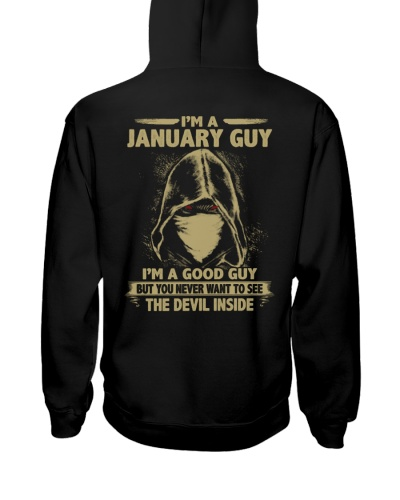 Limited Edition - I'm A January Guy