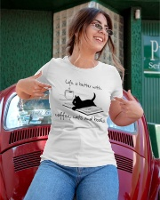 Life Is Better With Coffee Cats And Books Ladies T-Shirt apparel-ladies-t-shirt-lifestyle-01