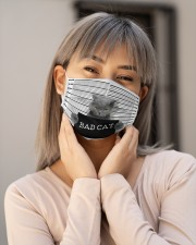 Bad Cat Cloth Face Mask - 3 Pack aos-face-mask-lifestyle-17