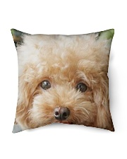 Big Face Poodle Indoor Pillow tile