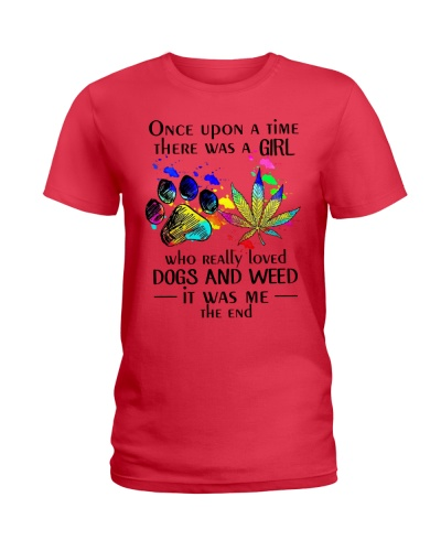 A Girl Who Really Loved Dogs And Weed