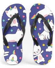 Caticorn Women's Flip Flops front