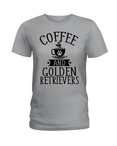 Limited Edition - Coffee And Golden Retrievers