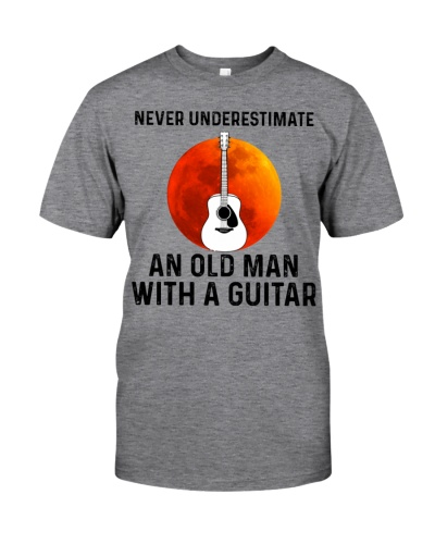 Limited Edition - An Old Man With A Guitar