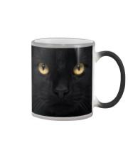 Big Face Black Cat Color Changing Mug thumbnail