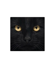 Big Face Black Cat Square Magnet thumbnail