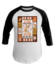 Corgi - Soft - Warm - Little Ball Of Fur Baseball Tee thumbnail
