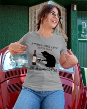 Limited Edition - Woman Also Needs A Cat Ladies T-Shirt apparel-ladies-t-shirt-lifestyle-01