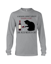 Limited Edition - Woman Also Needs A Cat Long Sleeve Tee thumbnail