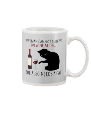 Limited Edition - Woman Also Needs A Cat Mug thumbnail