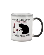 Limited Edition - Woman Also Needs A Cat Color Changing Mug thumbnail