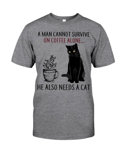 Limited Edition - A Man Also Needs A Cat On Coffee