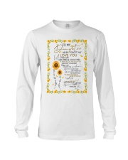 To My Daughter Long Sleeve Tee thumbnail