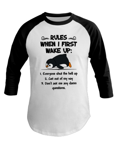 Limited Edition - Rules When I First Wake Up