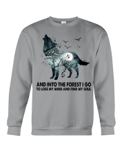 Limited Edition - And Into The Forest I Go Crewneck Sweatshirt thumbnail