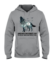 Limited Edition - And Into The Forest I Go Hooded Sweatshirt thumbnail