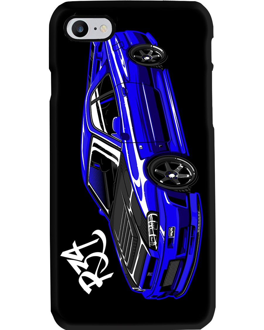 R34 Blue Phone Case