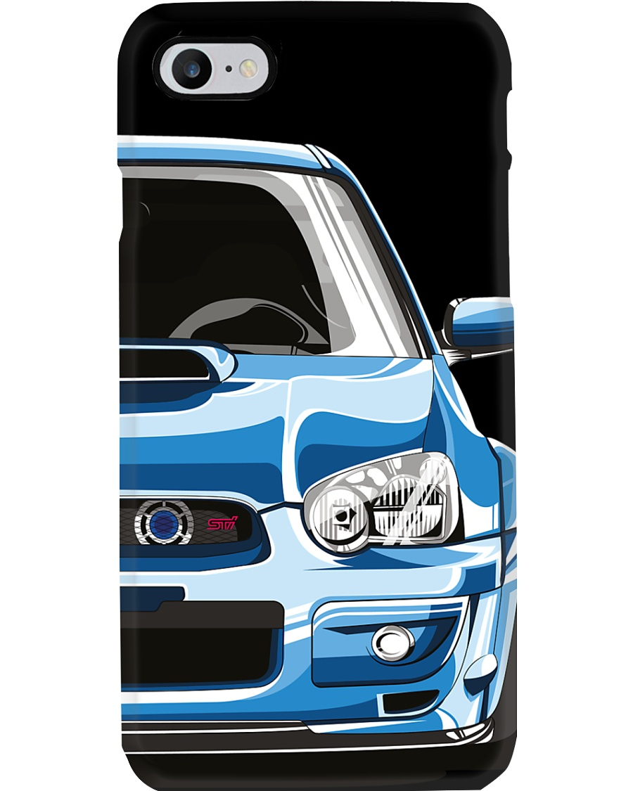 STI Blue Phone Case