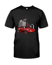 350Z Red Classic T-Shirt front