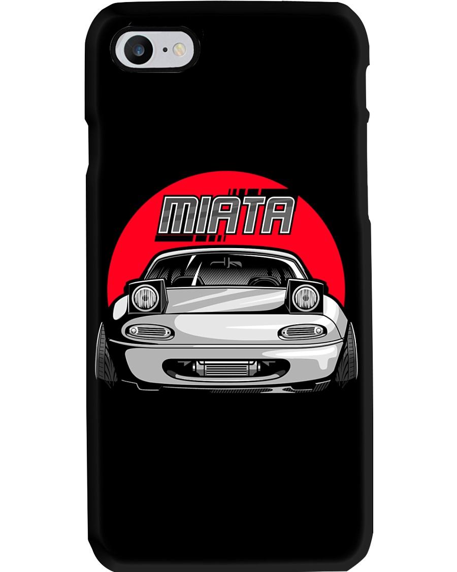 Miata White Phone Case