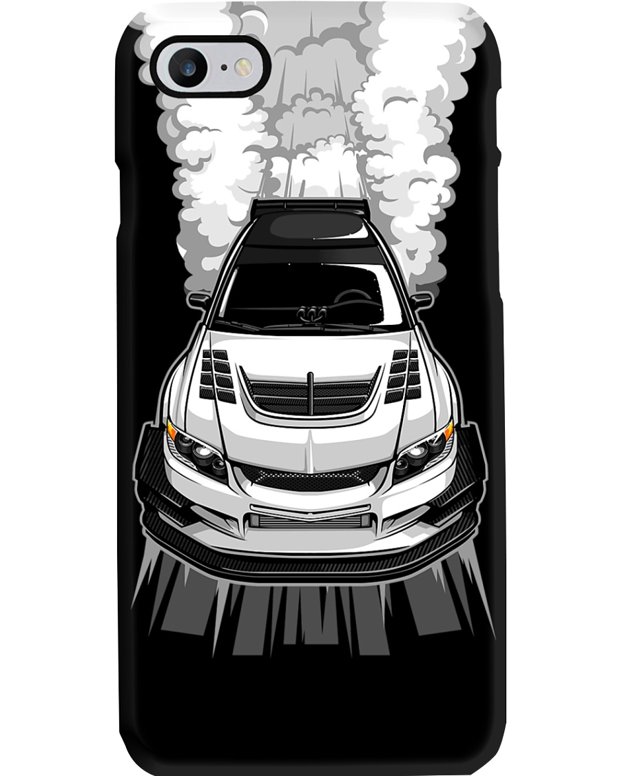 EVO Burnout White Phone Case