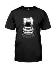 EVO Burnout White Classic T-Shirt tile