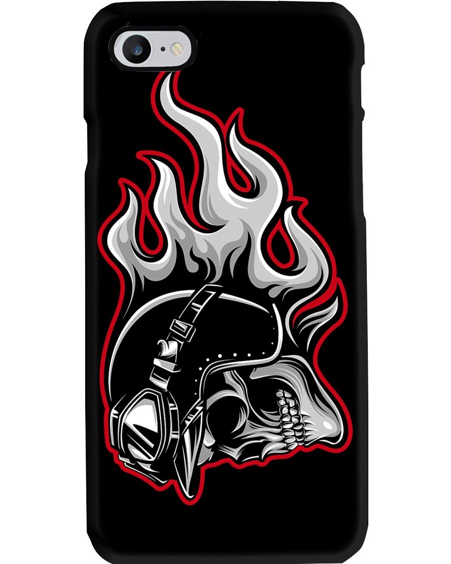 Moto skull Phone Case