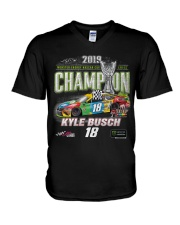 KYLE BUSCH NASCAR Cup Series Champion 2019 V-Neck T-Shirt thumbnail