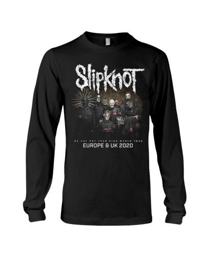 Slipknot Band Music Europe UK Tour 2020 T SHIRT