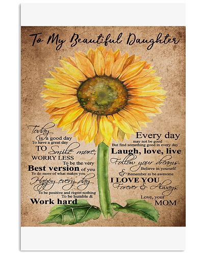 TO MY BEAUTIFUL DAUGHTER B02
