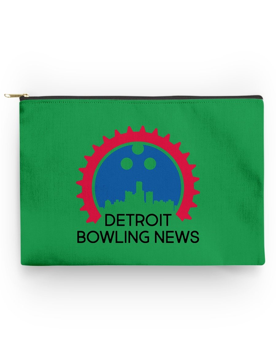 Detroit Bowling News Items  Accessory Pouch - Large