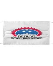 Detroit Bowling News Items  Cloth face mask thumbnail
