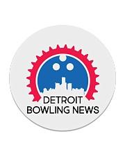 Detroit Bowling News Items  Circle Coaster thumbnail