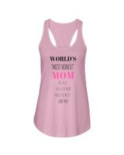 Funny Real life Quotes MOST HONEST MOM T-SHIRT Ladies Flowy Tank thumbnail