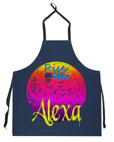 Alexa Monogram A