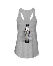 Border Collie Be Yourself Ladies Flowy Tank thumbnail