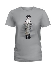 Border Collie Be Yourself Ladies T-Shirt thumbnail