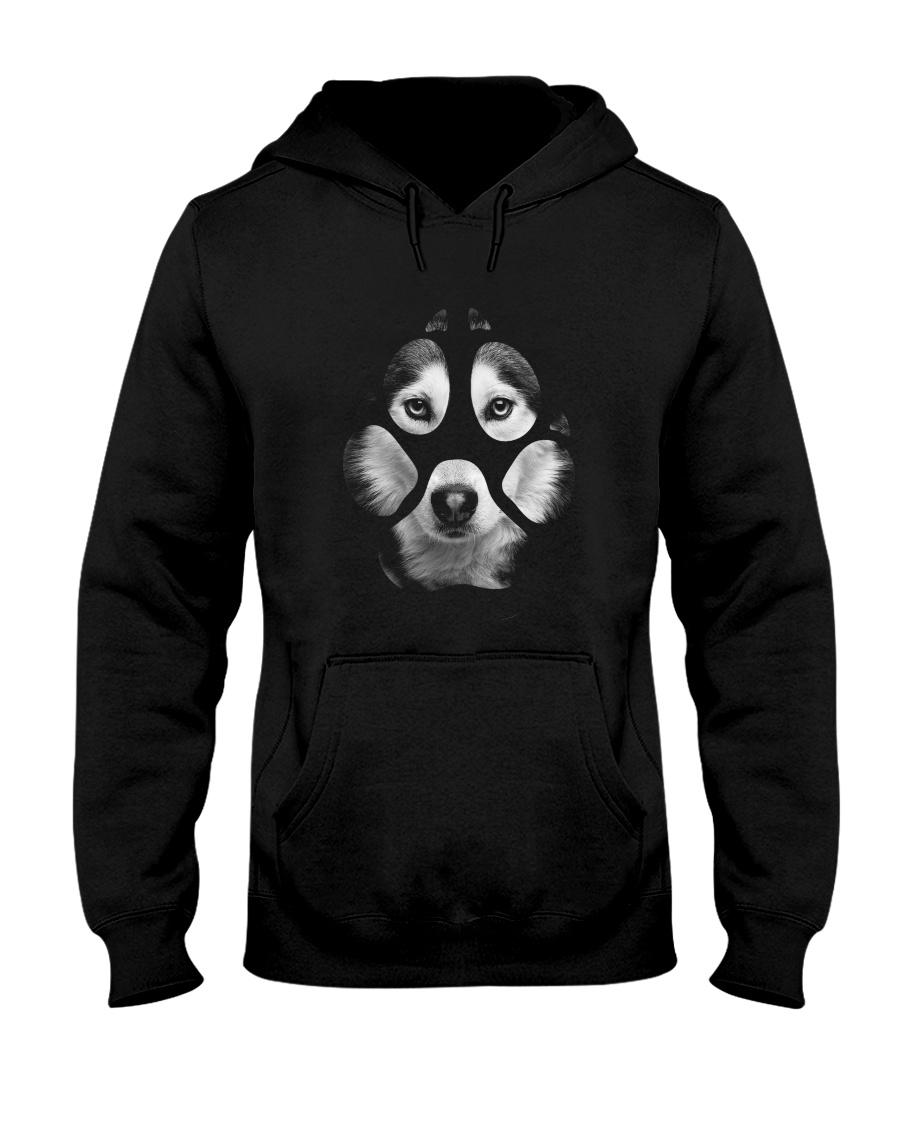 GAEA - Siberian Husky Paw - MA5 Hooded Sweatshirt