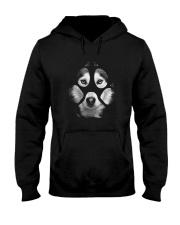 GAEA - Siberian Husky Paw - MA5 Hooded Sweatshirt front