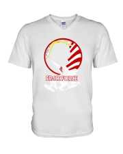space force shirt V-Neck T-Shirt thumbnail