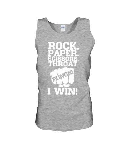 rock paper scissors throat punch shirt
