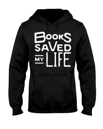 books saved my life hoodie