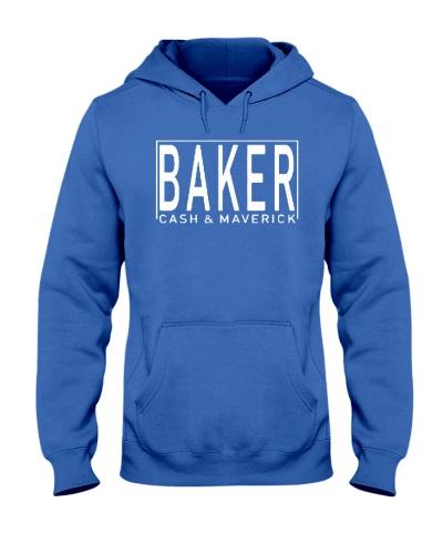 cash and maverick baker merch hoodie