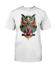 Cute Owl Design Classic T-Shirt tile