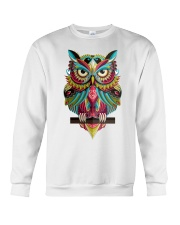 Cute Owl Design Crewneck Sweatshirt thumbnail