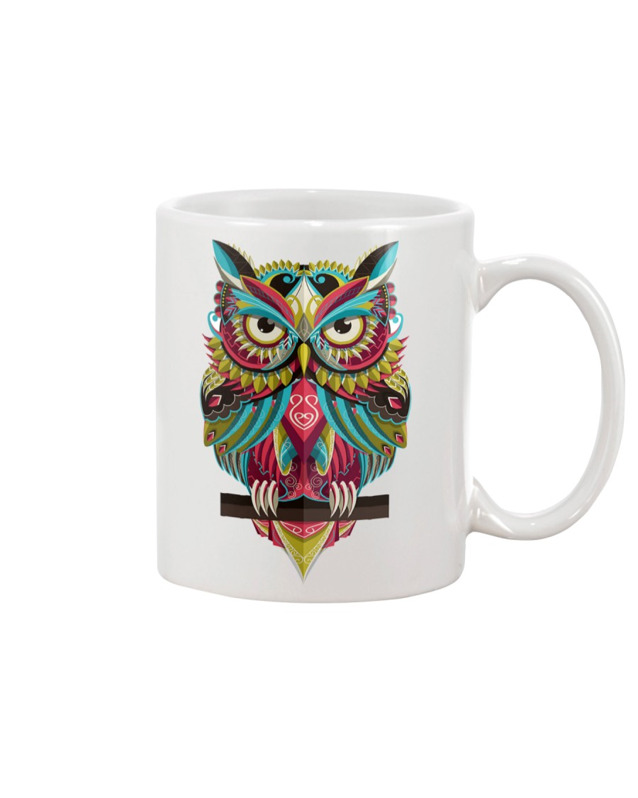 Cute Owl Design Mug