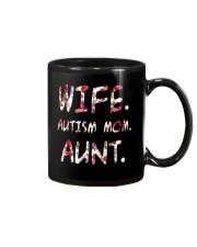Wife Autism Mom Aunt Mug thumbnail