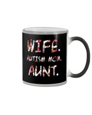 Wife Autism Mom Aunt Color Changing Mug thumbnail